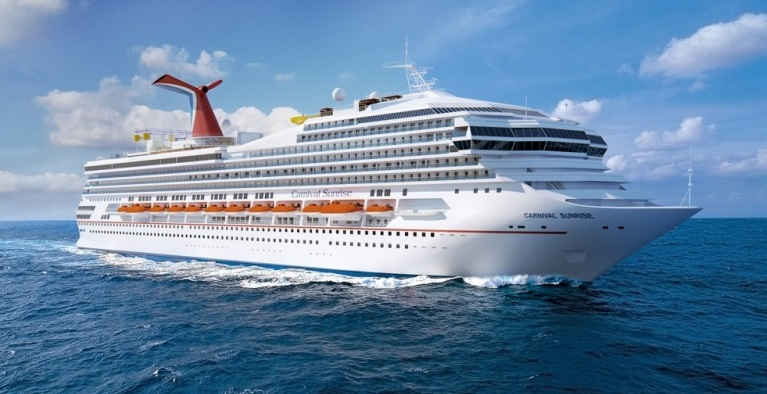 Carnival Cruises Totally Rennovated Carnival Sunrise