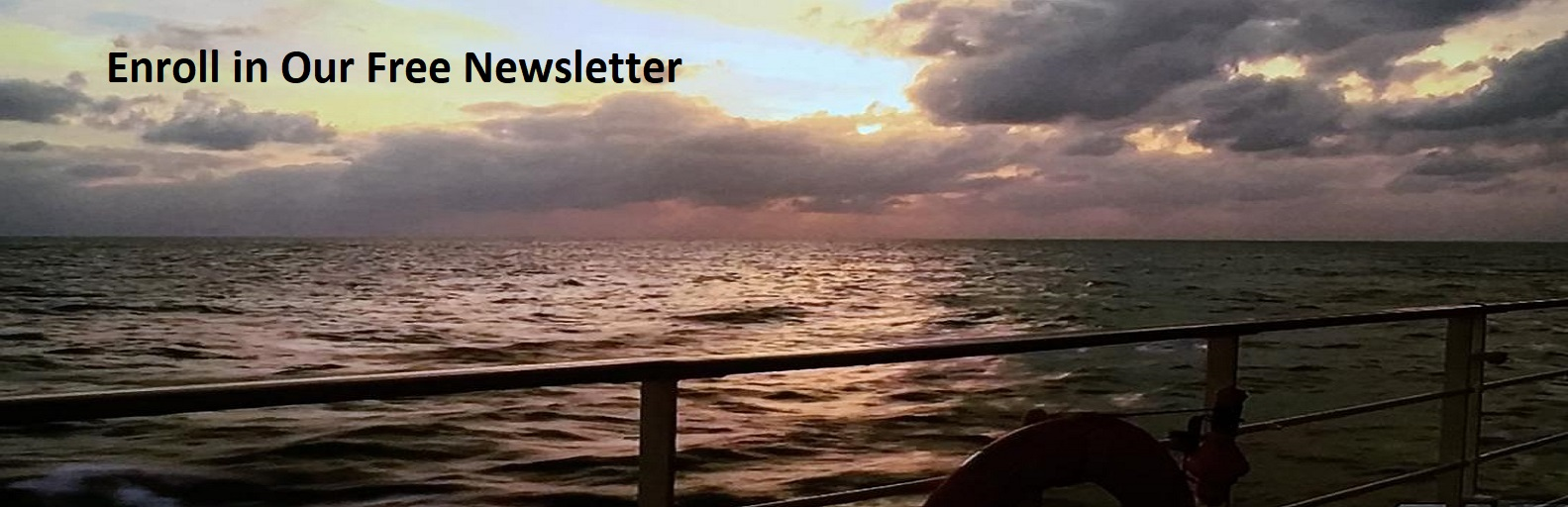 Sign Up for Our Free Cruise Newsletter