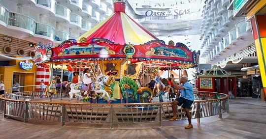 Carousel on Royal Caribbean's Oasis of the Seas