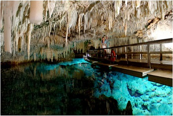 Bermuda attraction crystal caves