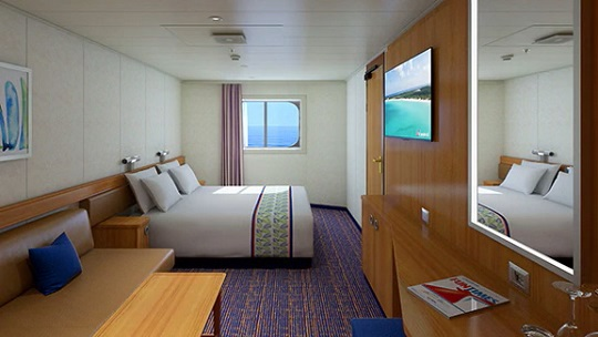 Carnival Cruises Carnival Radiance Oceanview Stateroom