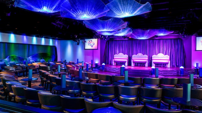 Disney Cruise Line's Disney Magic Adults Only Lounge