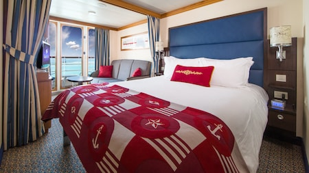Disney Cruise Line's Disney Magic Family Verandah Stateroom