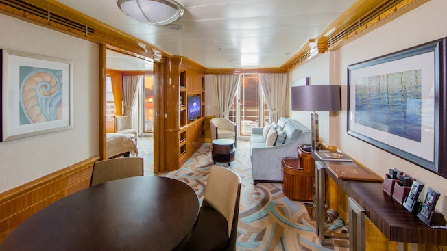 Disney Cruise Line's Disney Magic Concierge 1 Bedroom Verandah Stateroom