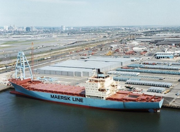 Maersk Line's 45 Years of Container Shipping Commemorating Adrian Maersk Maiden Sailing
