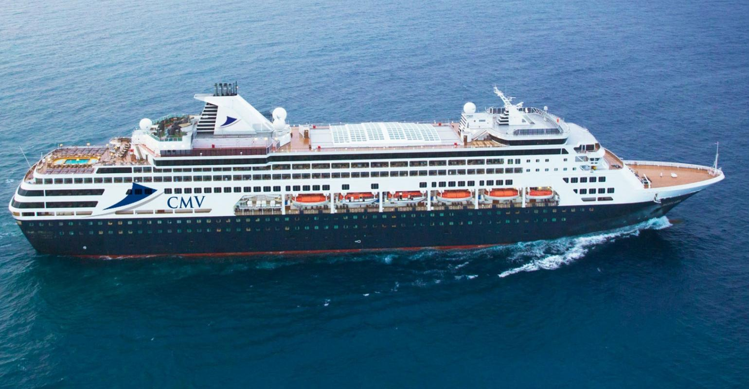 Vasco de Gamma of Cruise and Maritime Voyages Sold at Auction to Mystic Cruises.