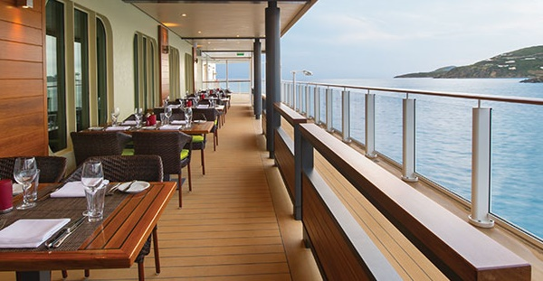 Speciality Dining - Waterfront Cagney Restaurant Norwegian Escape